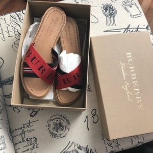 Burberry Nylon Sandals
